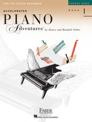 Accelerated Piano Adventures® Theory Book 1