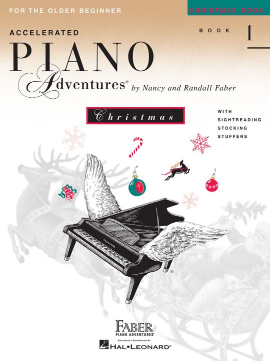 Accelerated Piano Adventures® Christmas Book 1