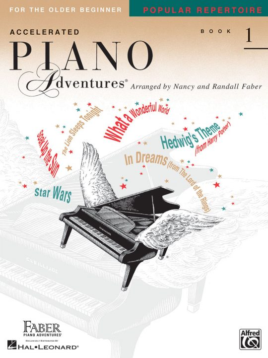 Accelerated Piano Adventures® Popular Repertoire Book 1