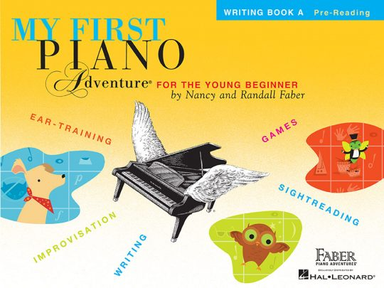 My First Piano Adventure® Writing Book A