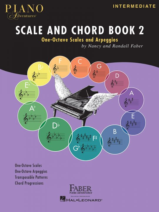 Piano Adventures Scale and Chord Book 2