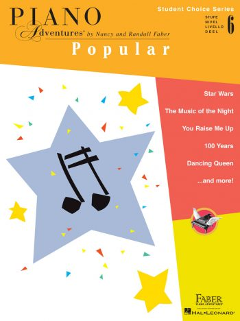Piano Adventures Student Choice Popular Level 6