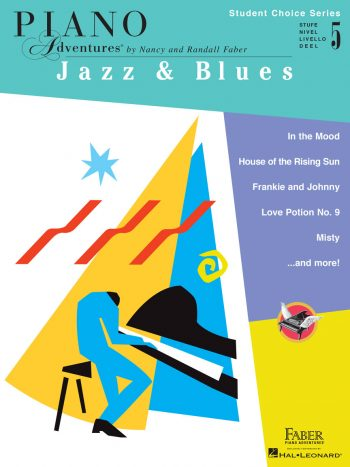 Piano Adventures Student Choice Jazz & Blues Level 5