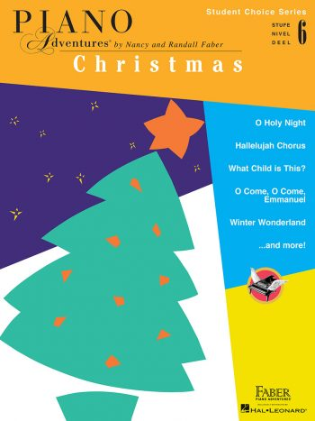 Piano Adventures Student Choice Christmas Level 6