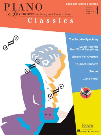 Piano Adventures Student Choice Classics Level 4