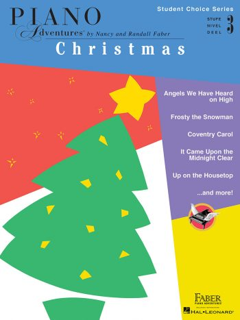 Piano Adventures Student Choice Christmas Level 3