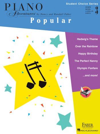 Piano Adventures Student Choice Popular Level 3