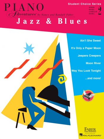 Piano Adventures Student Choice Jazz & Blues Level 2