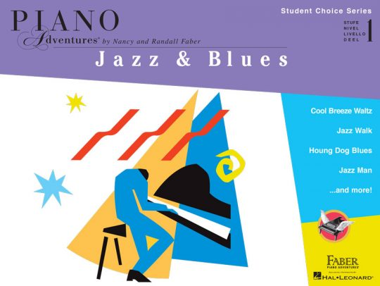 Piano Adventures Student Choice Jazz & Blues Level 1