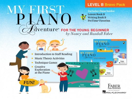 My First Piano Adventure Level B Bravo Pack