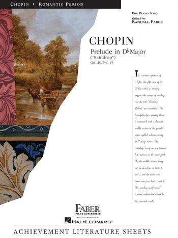 Chopin - Prelude in D flat Major (Raindrop)