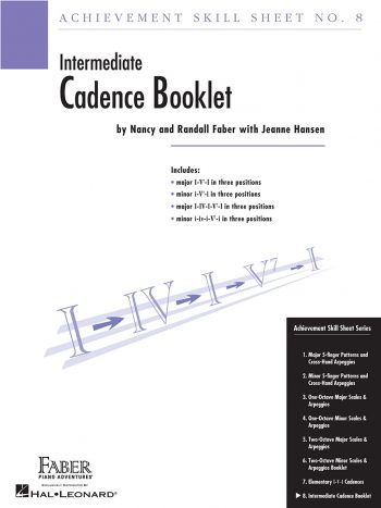 Achievement Skill Sheet No. 8: Cadence Booklet