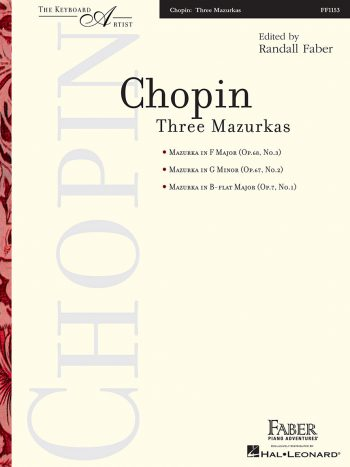 Chopin - Three Mazurkas
