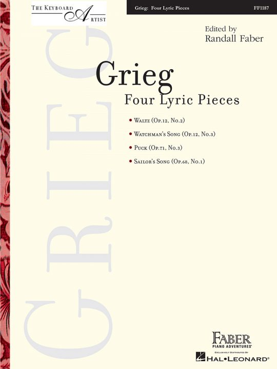 Grieg - Four Lyric Pieces