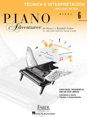 Piano Adventures® Libro de técnica e interpretación, Nivel 6